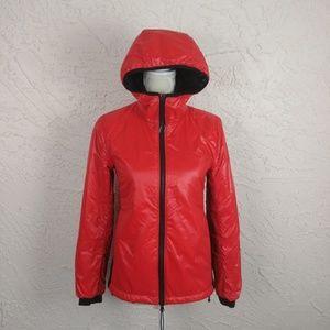 Community Aritzia Bright Red Storable Jacket (XS)